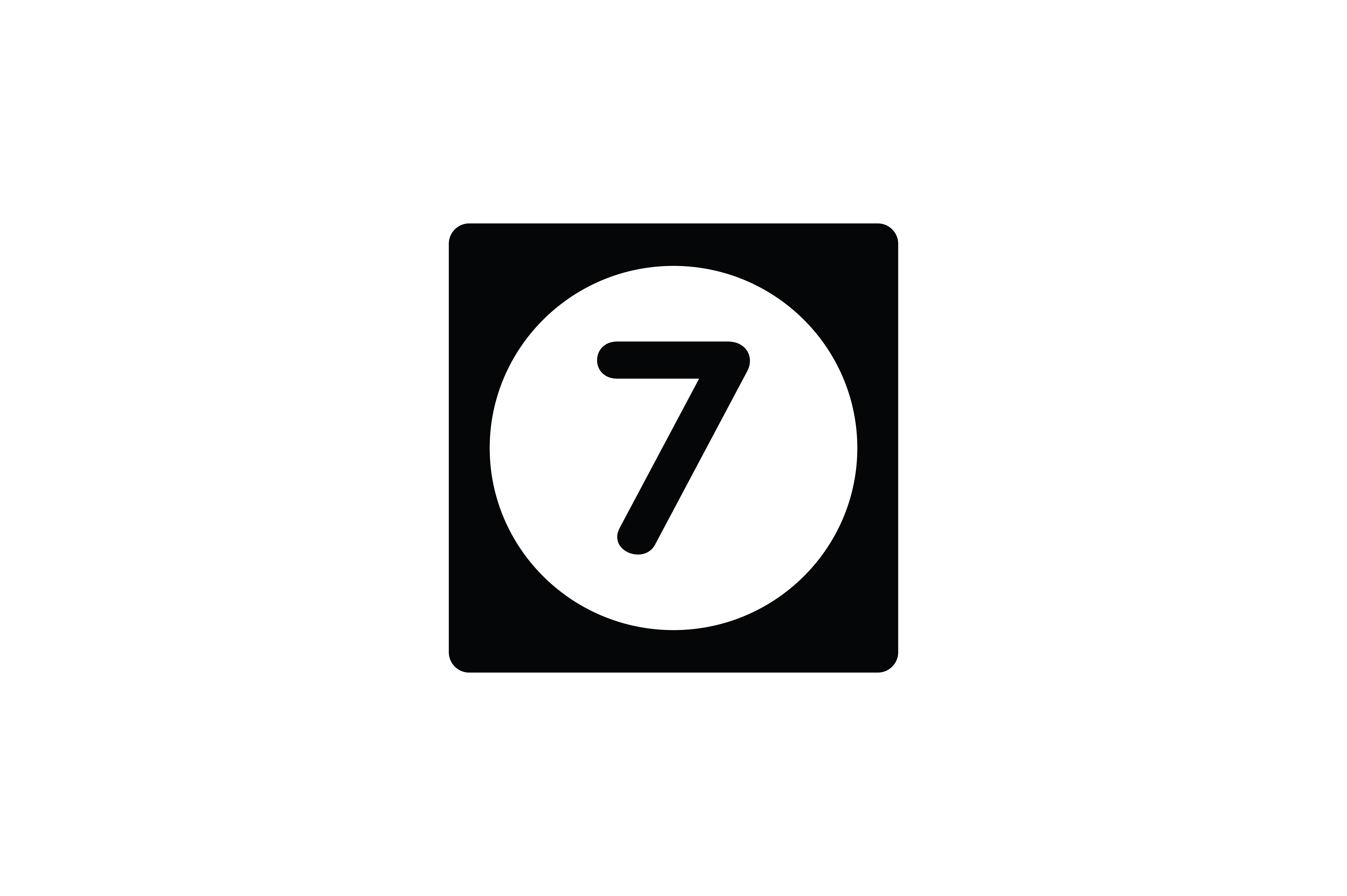 Download Free Number 7 Icon Graphic By Newicon Creative Fabrica for Cricut Explore, Silhouette and other cutting machines.