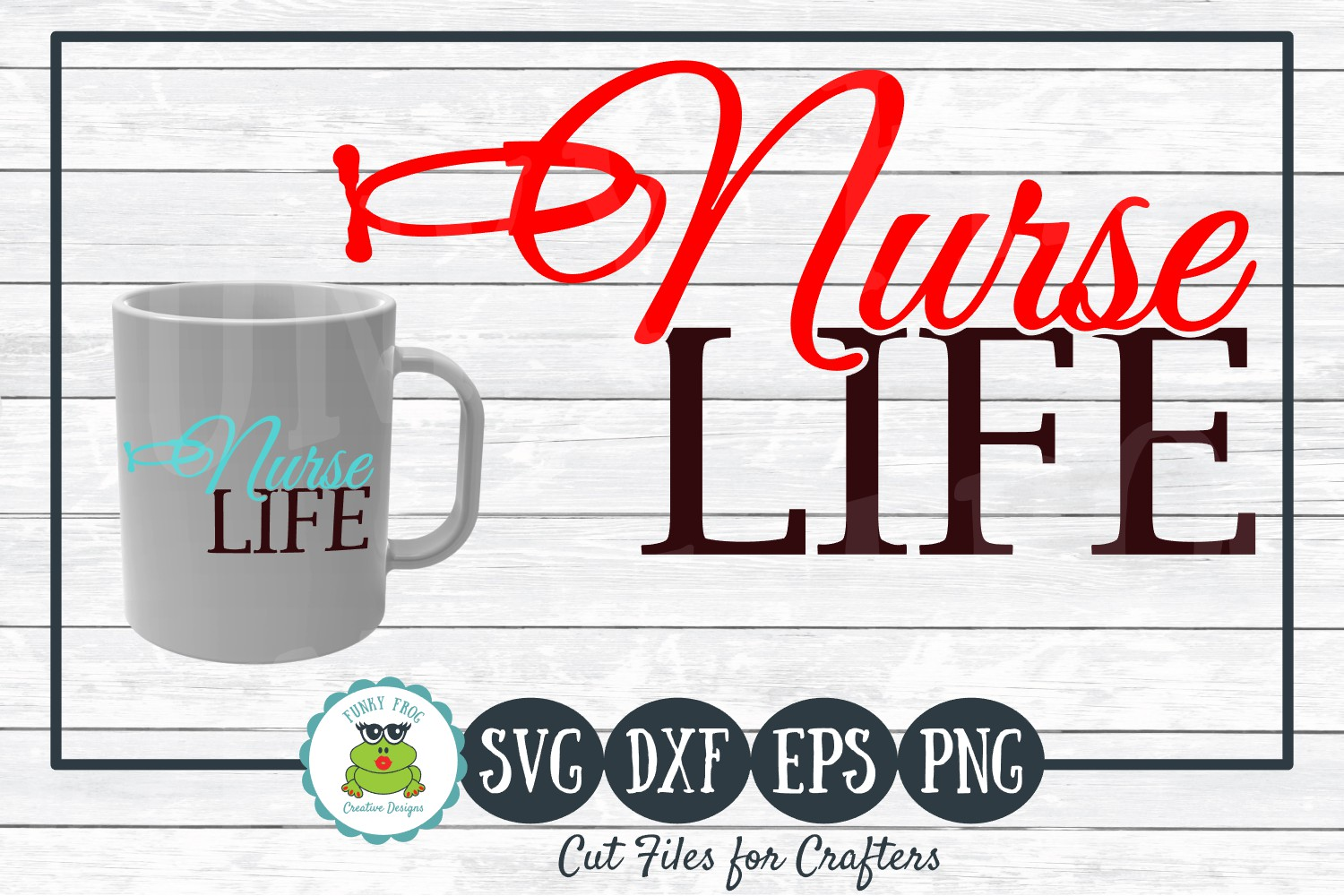Download Free Nurse Life For Crafters Graphic By Funkyfrogcreativedesigns for Cricut Explore, Silhouette and other cutting machines.