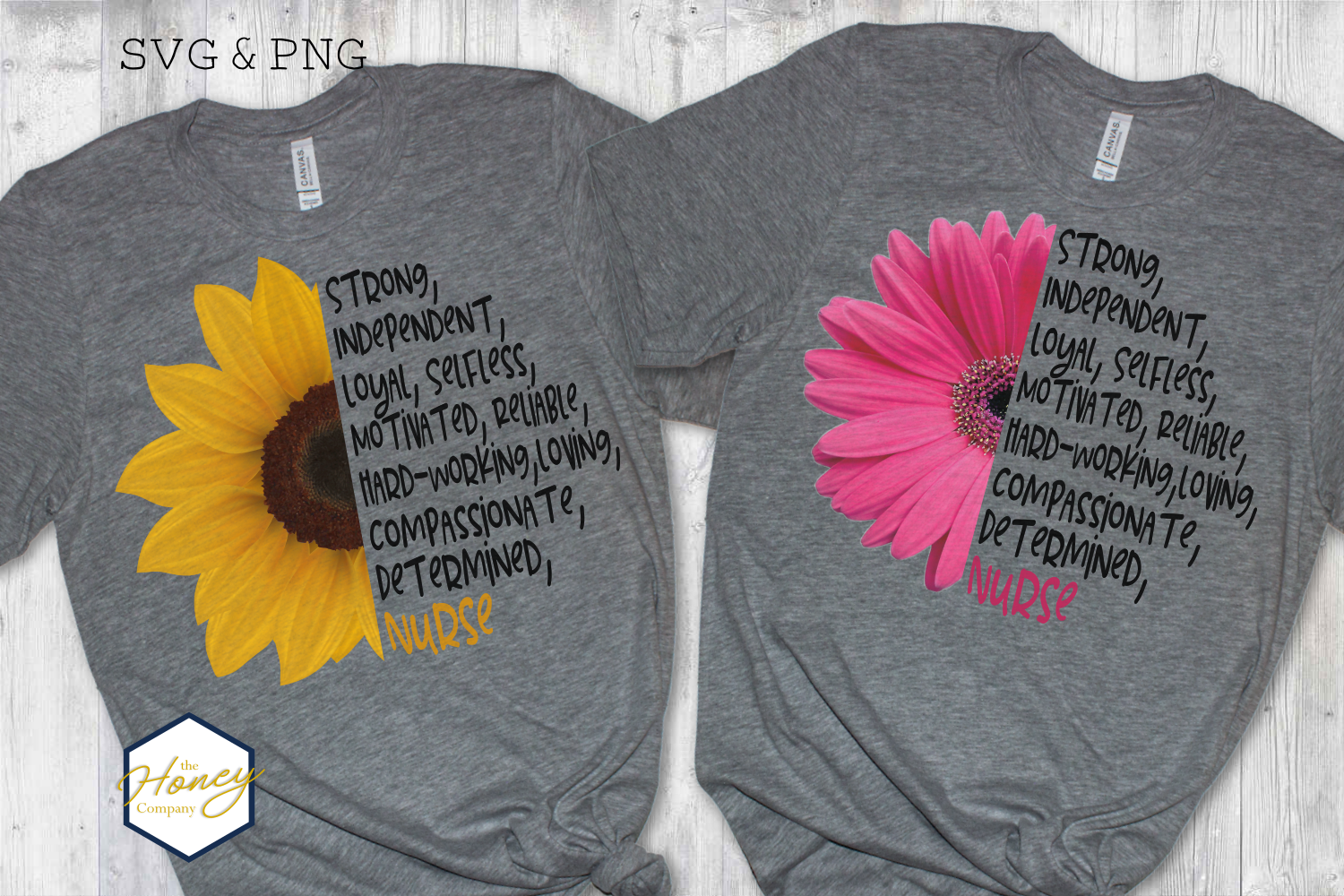 Download Free Nurse Quote Positivity Strong Graphic By The Honey Company for Cricut Explore, Silhouette and other cutting machines.