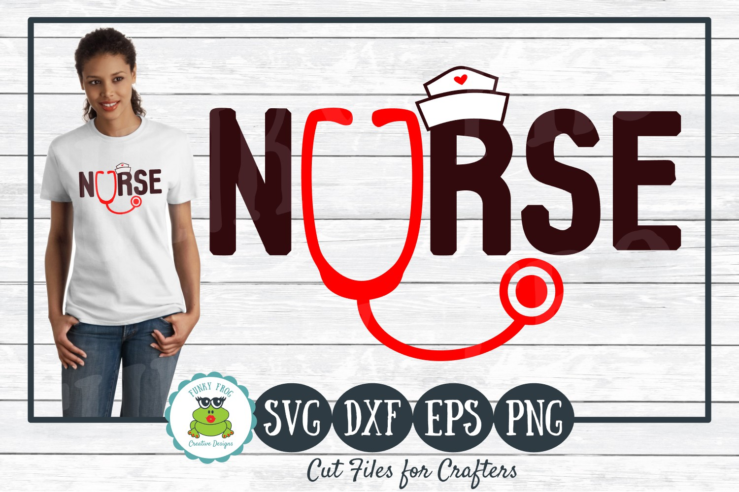 Download Free Nurse For Crafters Graphic By Funkyfrogcreativedesigns for Cricut Explore, Silhouette and other cutting machines.