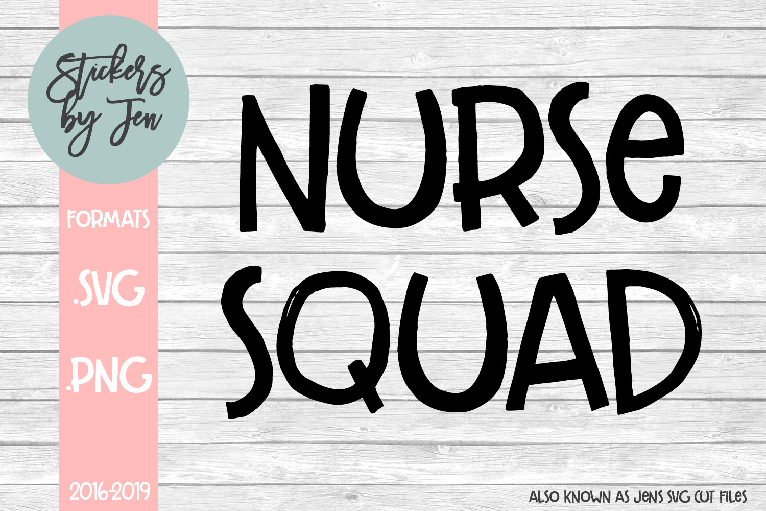Download Free Nurse Squad Svg Graphic By Stickers By Jennifer Creative Fabrica for Cricut Explore, Silhouette and other cutting machines.