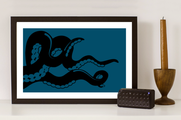 Download Free Octopus Squid Tentacles Svg Graphic By Designedbygeeks SVG Cut Files