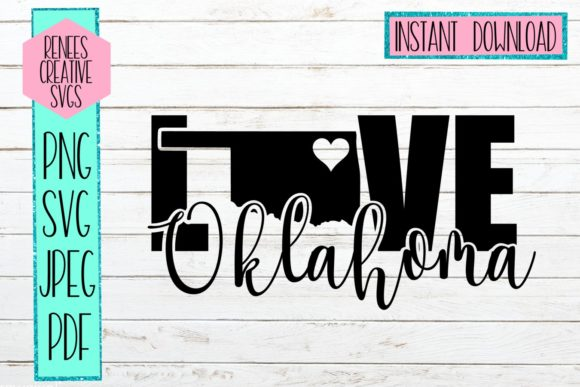 Download Free Oklahoma Love Svg Cutting File Graphic By Reneescreativesvgs for Cricut Explore, Silhouette and other cutting machines.