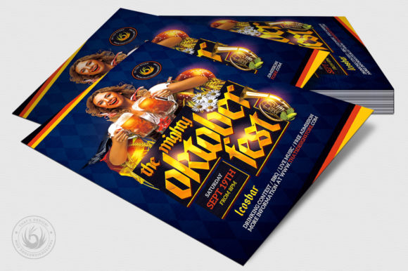 Oktoberfest Flyer Template V11 Graphic By ThatsDesignStore Image 4