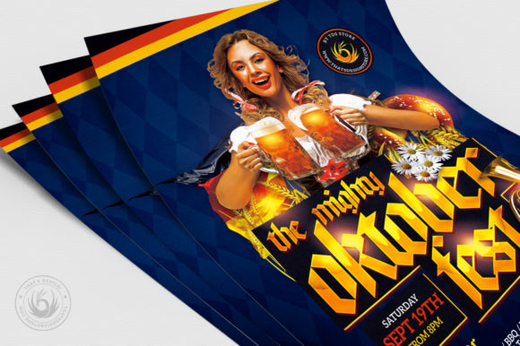 Oktoberfest Flyer Template V11 Graphic By ThatsDesignStore Image 5