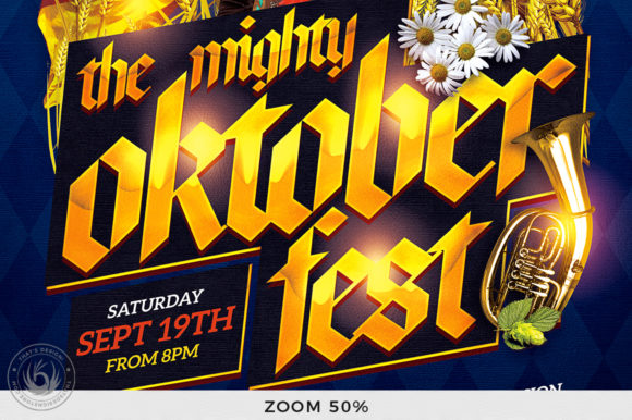 Oktoberfest Flyer Template V11 Graphic By ThatsDesignStore Image 7