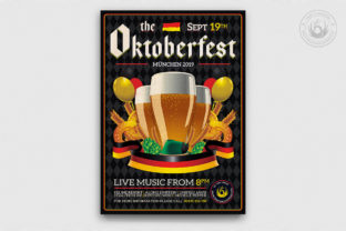 Oktoberfest Flyer Template V12 Graphic By ThatsDesignStore