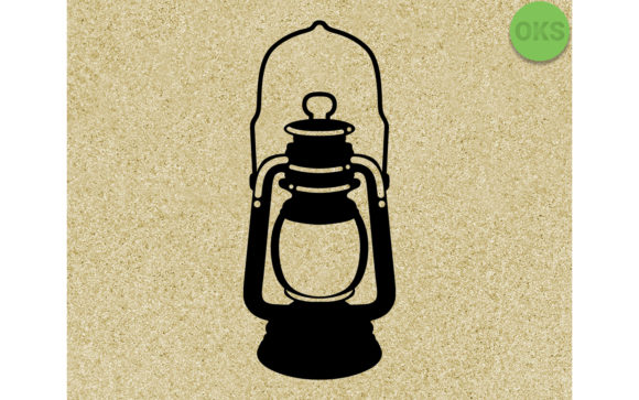 Download Free Old Lantern Vintage Graphic By Crafteroks Creative Fabrica for Cricut Explore, Silhouette and other cutting machines.