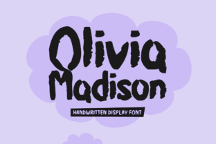Olivia Madison Font By Shattered Notion
