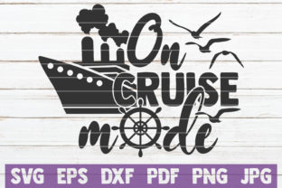Download Free On Cruise Mode Svg Cut File Graphic By Mintymarshmallows for Cricut Explore, Silhouette and other cutting machines.