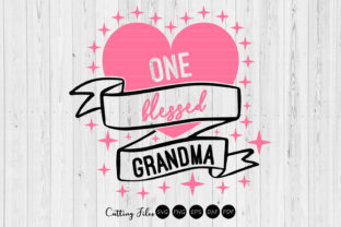 Download Free One Blessed Grandma Svg Cut Files Graphic By Hd Art Workshop for Cricut Explore, Silhouette and other cutting machines.