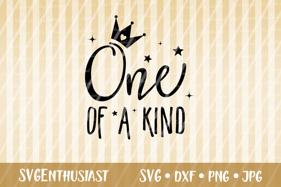 Download Free One Of A Kind Svg Cut File Graphic By Svgenthusiast Creative for Cricut Explore, Silhouette and other cutting machines.
