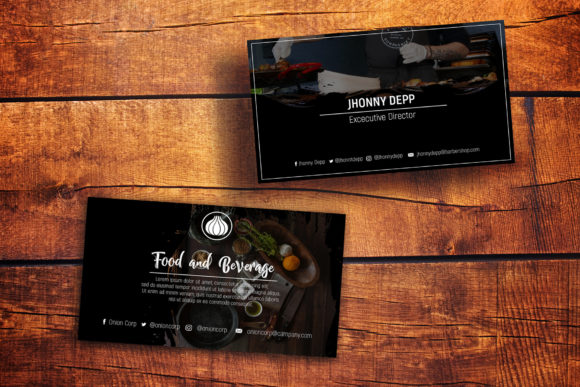 Onion Business Card Templates Graphic By gumacreative Image 2
