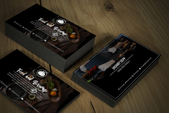 Onion Business Card Templates Graphic By gumacreative Image 4