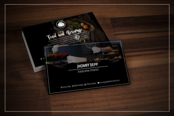 Onion Business Card Templates Graphic By gumacreative