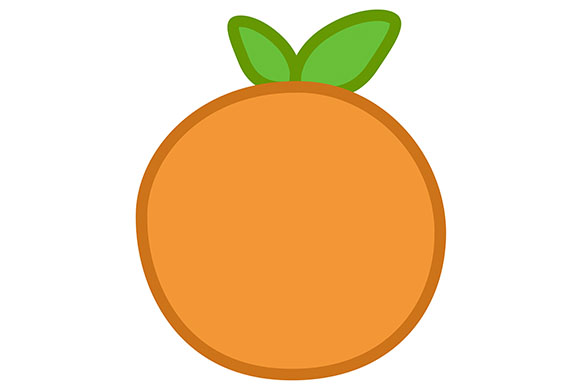 Download Free Orange Clipart Vector Eps Png Jpg Graphic By Milaski for Cricut Explore, Silhouette and other cutting machines.