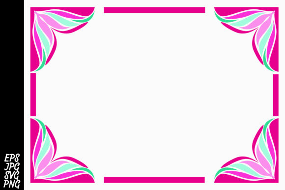 Ornament Border SVG Graphic By Arief Sapta Adjie Image 1