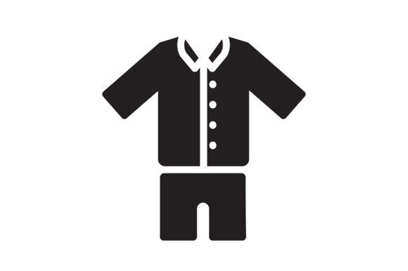 Download Free Pajamas Icon Graphic By Hellopixelzstudio Creative Fabrica for Cricut Explore, Silhouette and other cutting machines.