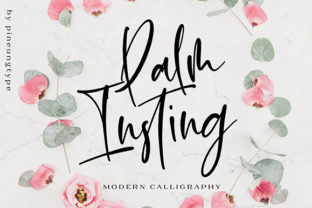 Palm Insting Font By missinklab