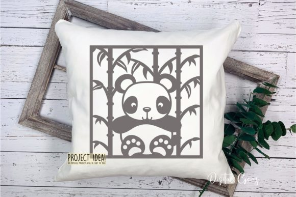 Download Free Panda Designs Graphic By Digital Gems Creative Fabrica for Cricut Explore, Silhouette and other cutting machines.