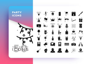 Party Icon Graphic By Goodware.Std