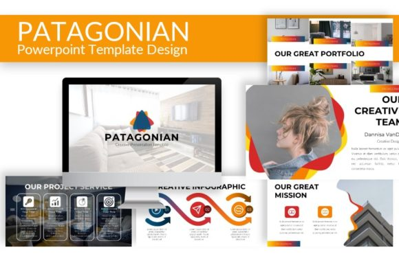 Patagonian - Powerpoint Template Graphic Presentation Templates By ArtDreamerStudio