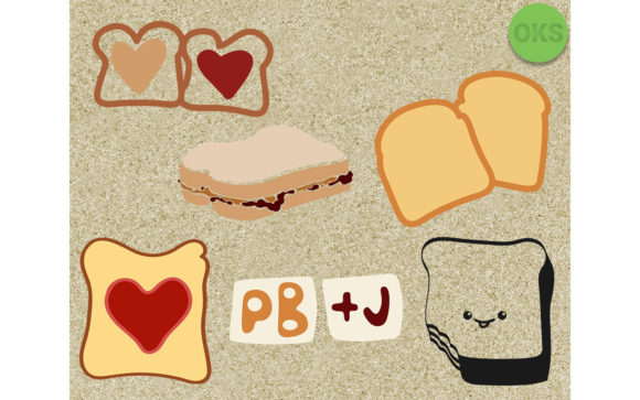 Download Free Peanut Butter And Jelly Svg Vector Eps Graphic By Crafteroks for Cricut Explore, Silhouette and other cutting machines.