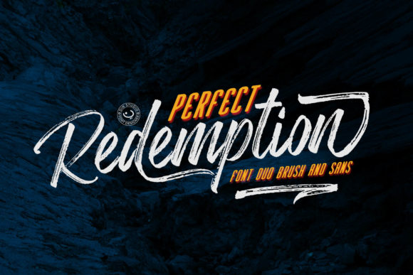 Print on Demand: Perfect Redemption Duo Script & Handwritten Font By Din Studio