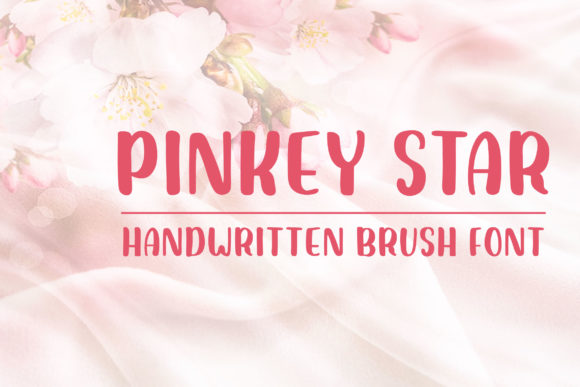 Print on Demand: Pinkey Star Display Font By Dasagani