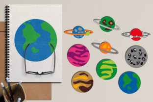 Planets Graphic By Revidevi