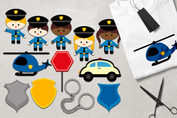 Print on Demand: Police Graphic Illustrations By Revidevi