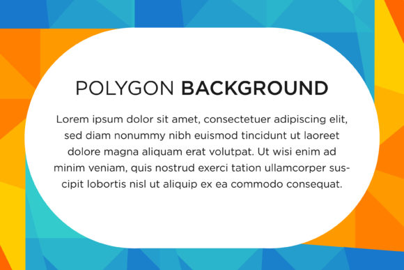 Polygon Triangle Horizontal Banner Graphic By noory.shopper