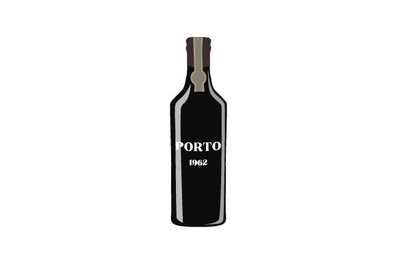 Porto Wine Portugal Craft Cut File By Creative Fabrica Crafts