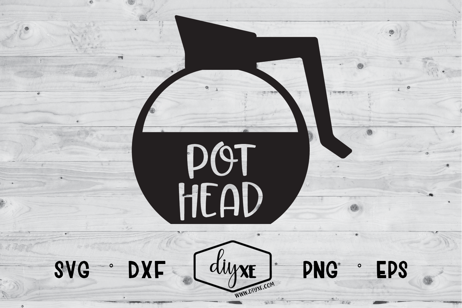 Download Free Pot Head Graphic By Sheryl Holst Creative Fabrica for Cricut Explore, Silhouette and other cutting machines.