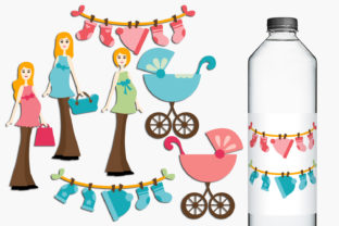 Print on Demand: Pregnant Woman Graphic Illustrations By Revidevi