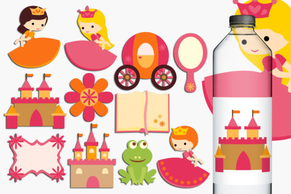 Print on Demand: Princess Graphic Illustrations By Revidevi