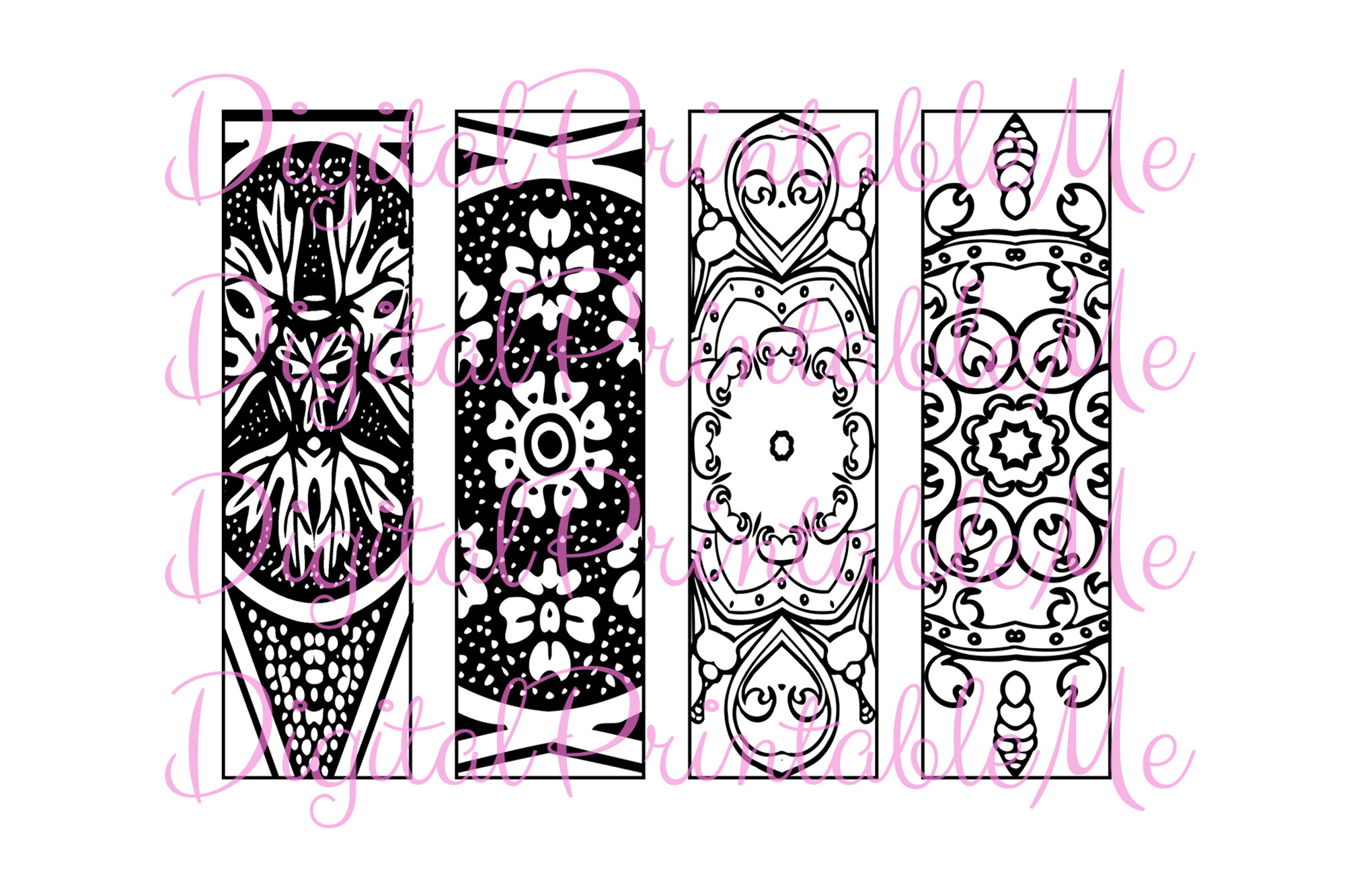 410+ Bookmark Coloring Sheets Best HD