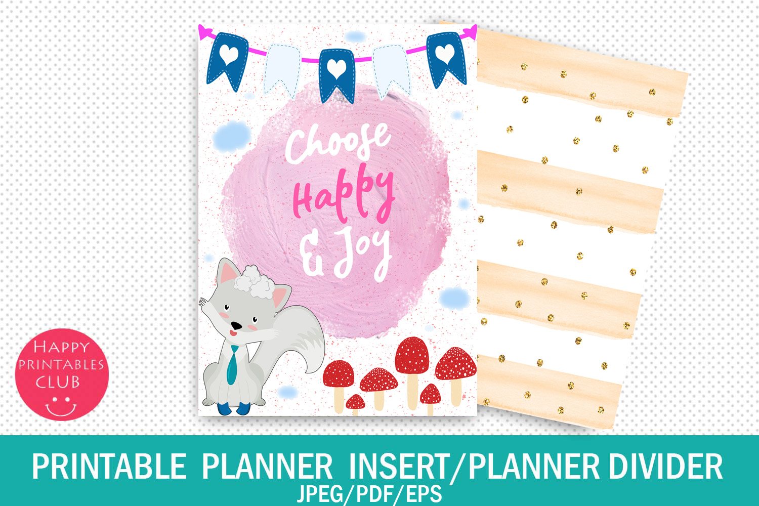 Download Free Printable Planner Insert Planner Quotes Graphic By Happy for Cricut Explore, Silhouette and other cutting machines.