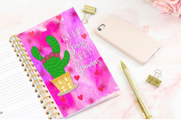 Print on Demand: Printable Planner Quotes-Inserts-Divider Graphic Crafts By Happy Printables Club - Image 3
