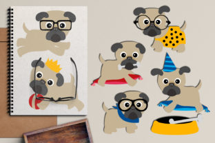 Pug Puppy Graphic By Revidevi