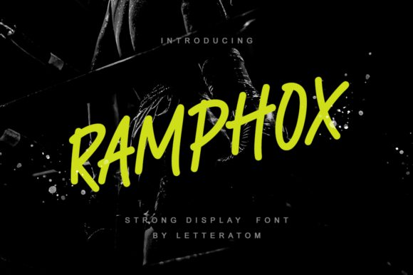 Print on Demand: RAMPHOX Display Font By Letteratom