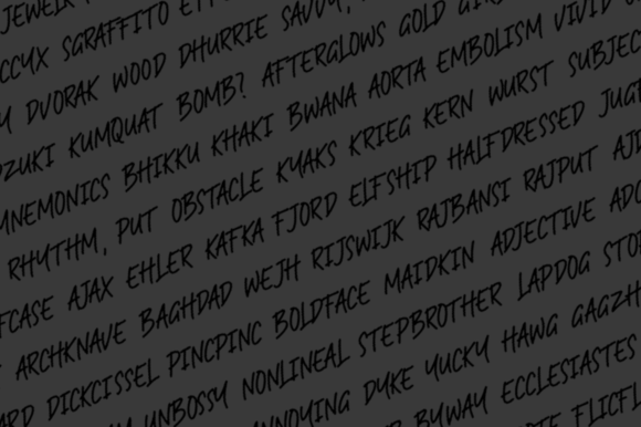 Print on Demand: RAMPHOX Display Font By Letteratom - Image 8