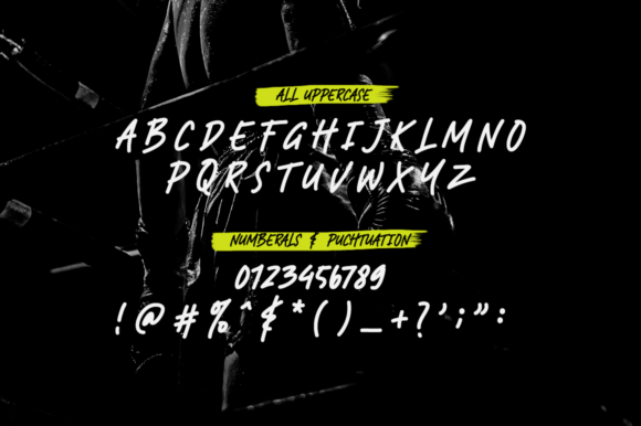 Print on Demand: RAMPHOX Display Font By Letteratom - Image 10