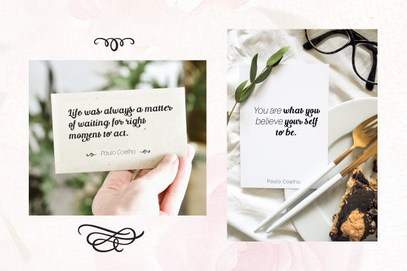 Print on Demand: Raffina Script & Handwritten Font By VNM Creative Studio - Image 8