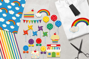 Rainbow Party Graphic By Revidevi