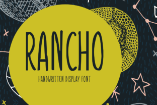 Rancho Font By Shattered Notion