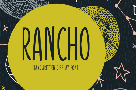 Print on Demand: Rancho Display Font By Shattered Notion