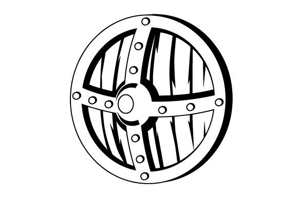 Download Free Realistic Viking Shield Svg Cut File By Creative Fabrica Crafts for Cricut Explore, Silhouette and other cutting machines.