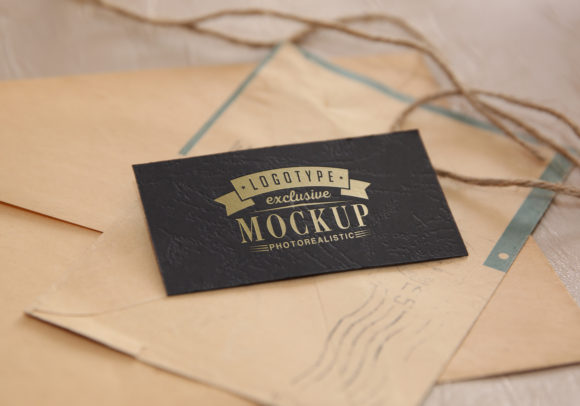 Print on Demand: Realistic Mock-ups on Vintage Background Graphic Product Mockups By bywahtung