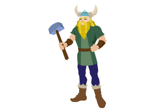 Download Free Realistic Viking Man Svg Cut File By Creative Fabrica Crafts for Cricut Explore, Silhouette and other cutting machines.